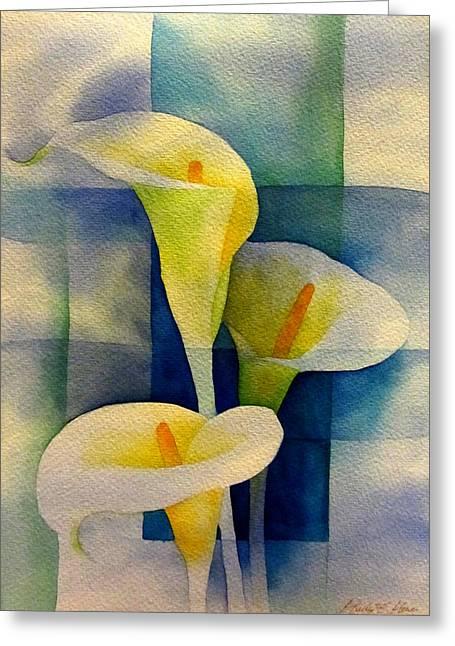 Sky Breeze Greeting Card by Hailey E Herrera