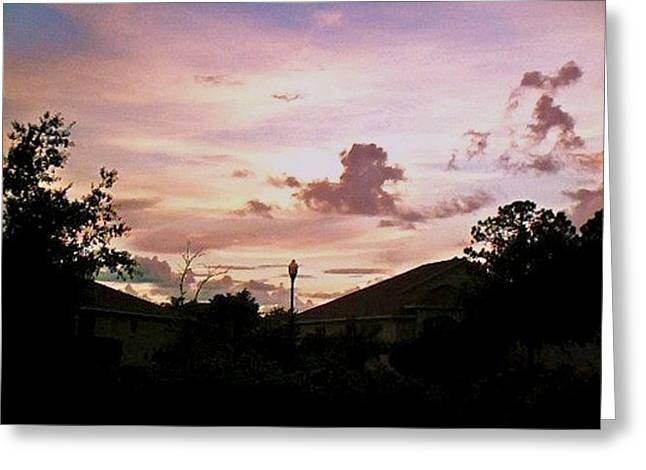 Greeting Card featuring the photograph Sky Figures by Yolanda Rodriguez