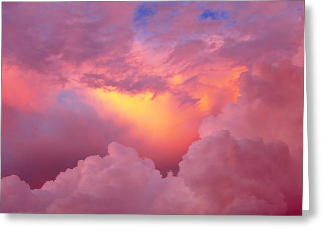 Sky I Greeting Card by Felipe Djanikian