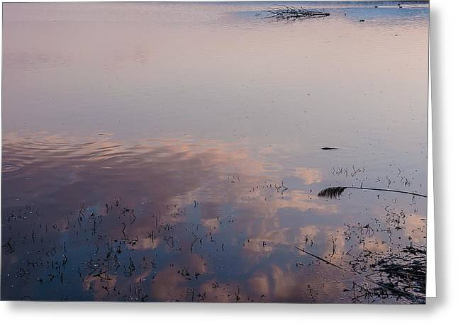 Sky In The Water Greeting Card by Sergey Simanovsky