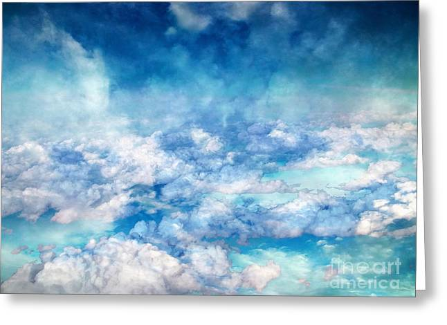 Sky Moods - A View From Above Greeting Card