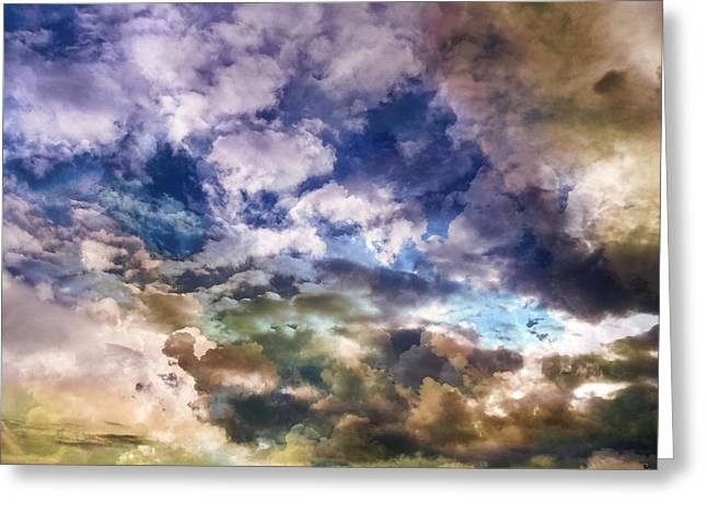 Sky Moods - Sea Of Dreams Greeting Card by Glenn McCarthy