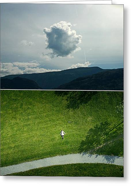 sky Greeting Card by Noahlakcus
