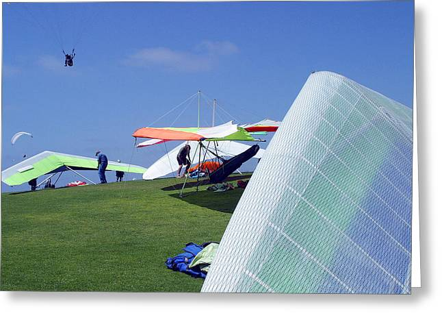 Greeting Card featuring the photograph Sky Pilots by Don Olea