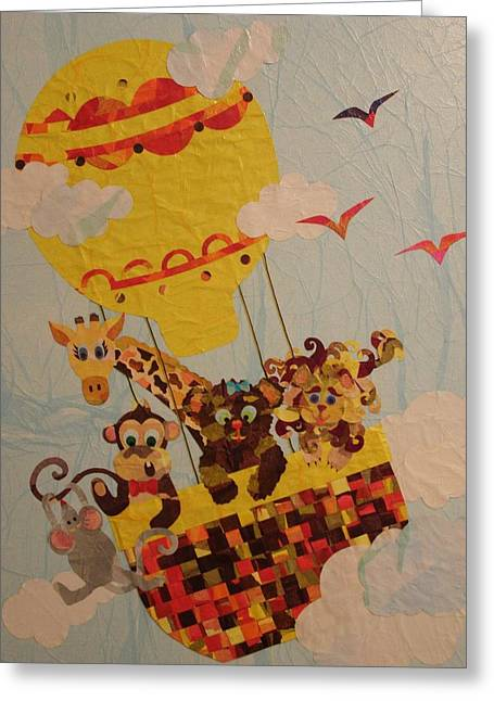 Sky Riders Greeting Card