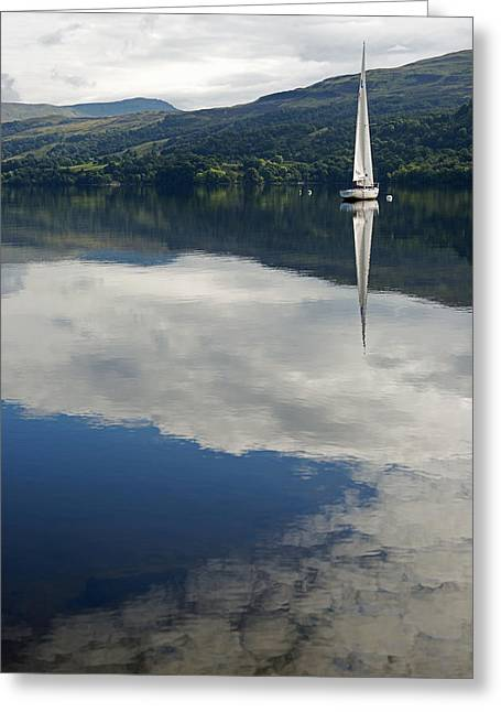 Sky Sailing Greeting Card