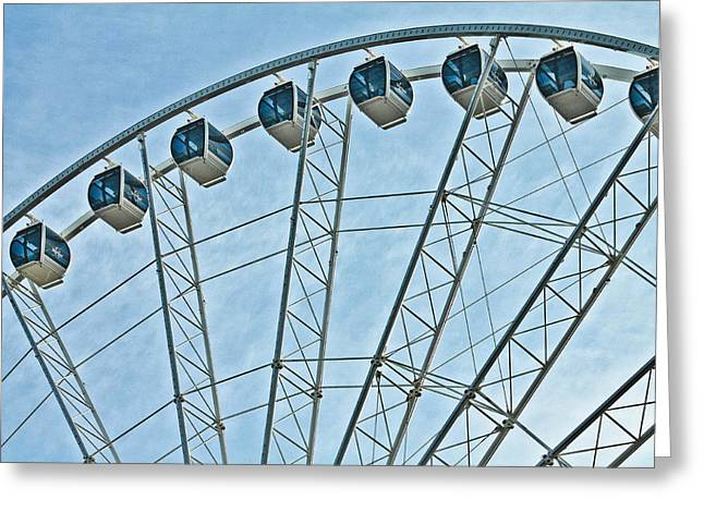 Sky Wheel  Greeting Card