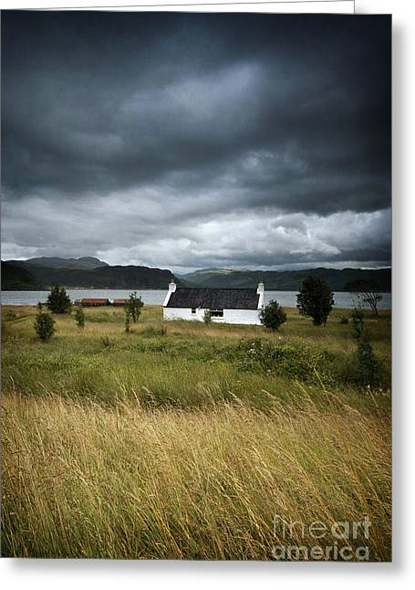 Skye Cottage Greeting Card