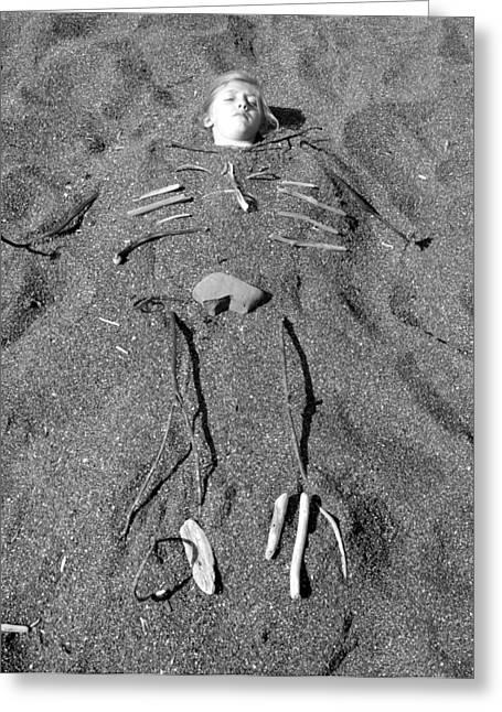 Skye Skeleton Greeting Card