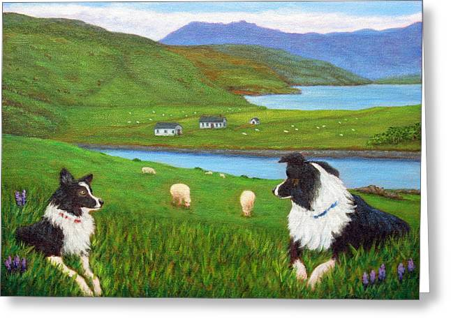 Skye Watch Greeting Card