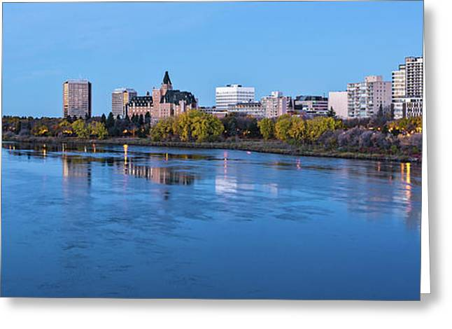 Skylines At Waterfront, South Greeting Card