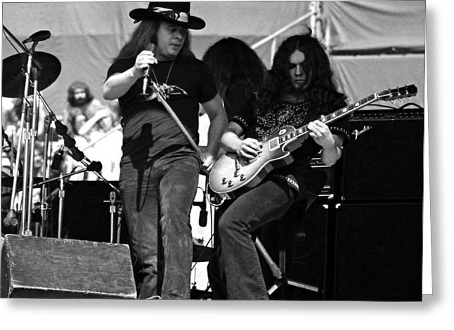 Skynyrd #26 Crop 2 Greeting Card