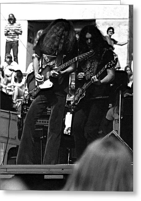 Skynyrd #5 Crop 2 Greeting Card