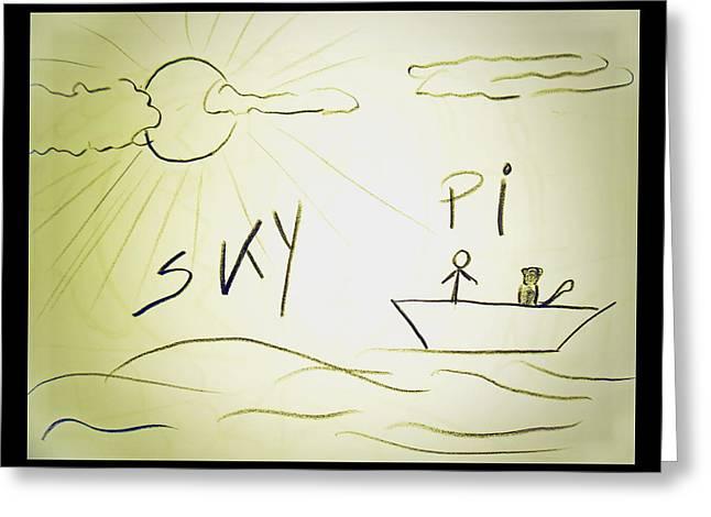 Skype Greeting Card by Beto Machado