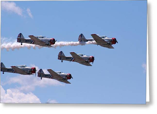 Skytypers Greeting Card