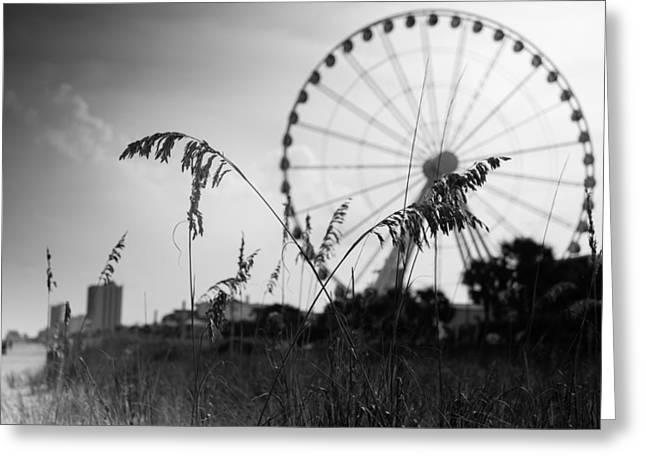Skywheel View Greeting Card