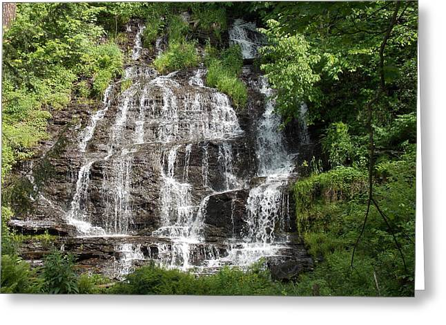 Slatebrook Falls Greeting Card