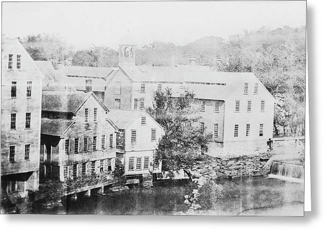 Slater Cotton Mill Greeting Card