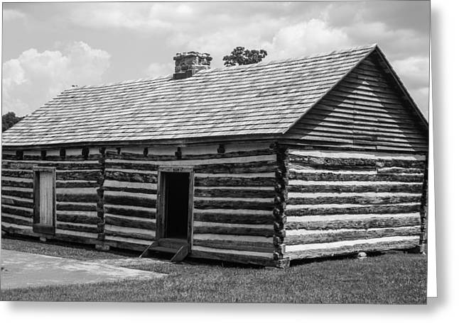Slave Quarters At The Hermitage Greeting Card by Robert Hebert