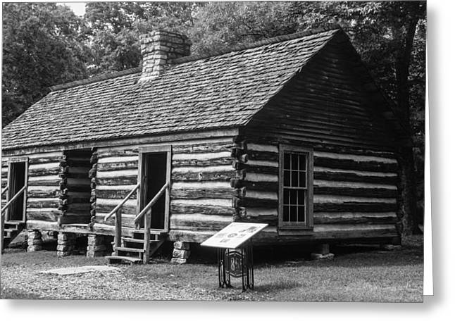 Slave Quarters Belle Meade Plantation Greeting Card by Robert Hebert
