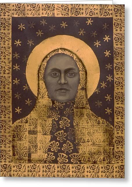 Slavic Mother Goddess Greeting Card