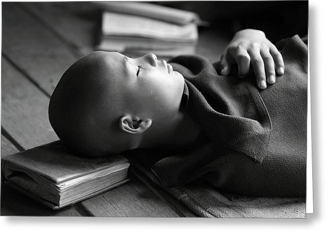 Sleeping Buddha Greeting Card