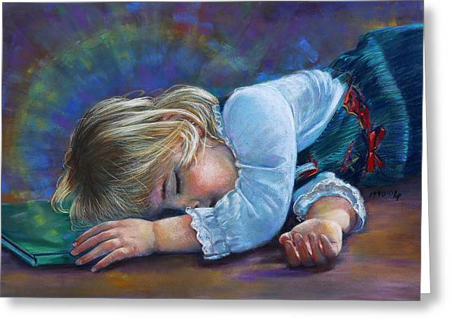 Sleeping Child Greeting Card