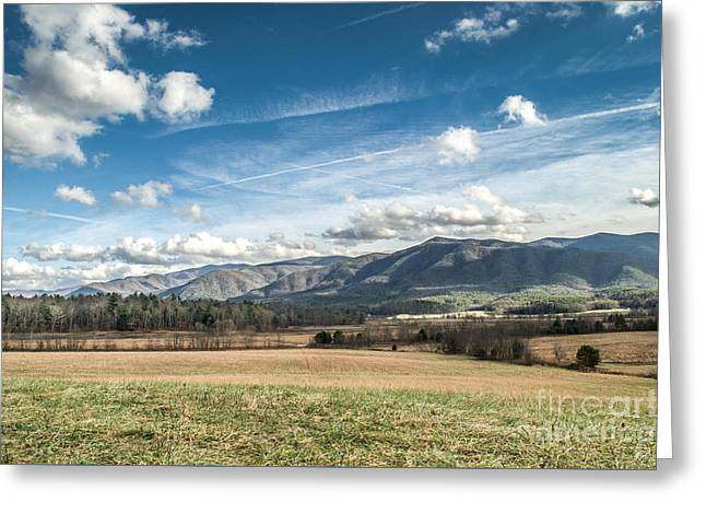 Greeting Card featuring the photograph Sleeping Giants In Cades Cove by Debbie Green