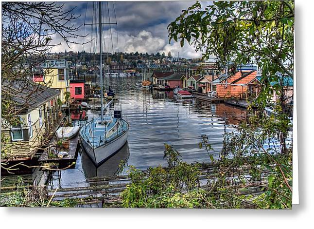 Sleepless In Seattle Greeting Card by Spencer McDonald