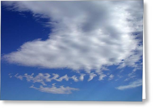 Sleepy Clouds Greeting Card