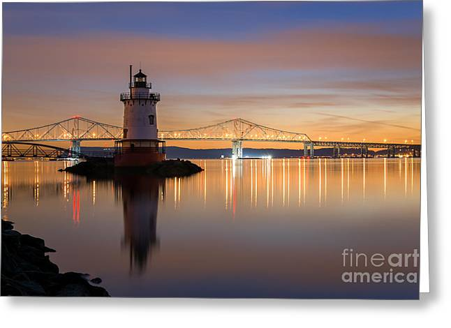 Sleepy Hollow Light Reflections  Greeting Card