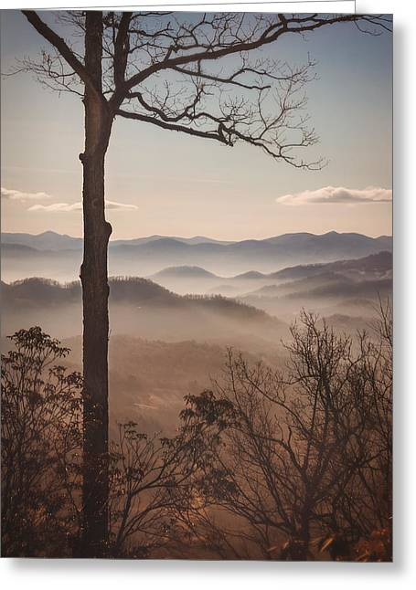 Slice Of The Smokies Greeting Card by Maria Robinson