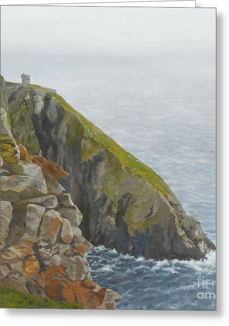 Slieve League County Donegal Greeting Card