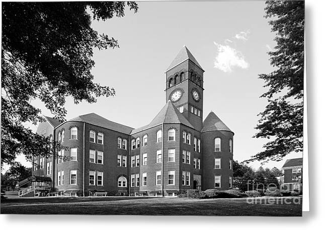 Slippery Rock University Old Main Greeting Card by University Icons