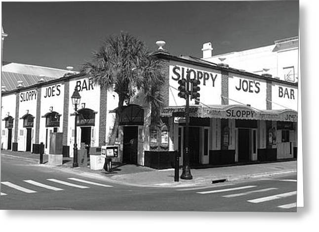 Sloppy Joes Bar Key West Fl Greeting Card