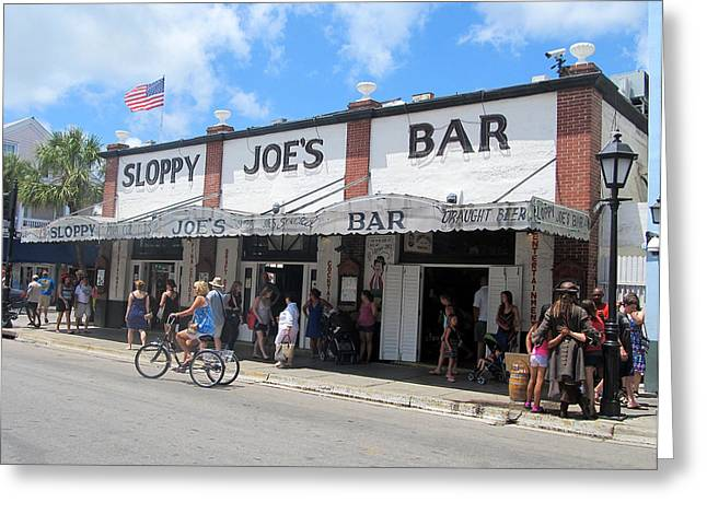 Sloppy Joes Key West 2 Greeting Card