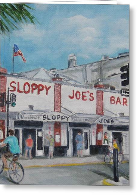 Sloppy Joe's Greeting Card