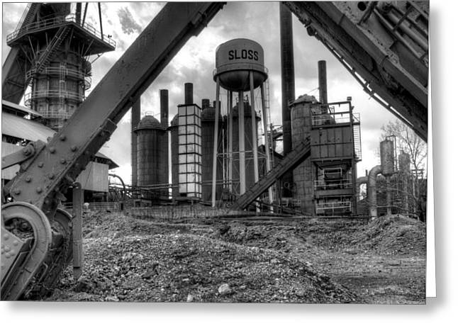 Sloss Furnace Greeting Card
