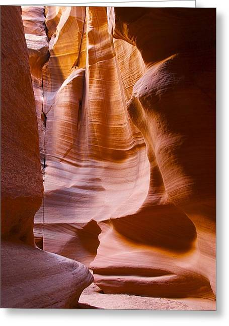 Slot Canyon 3 Greeting Card by T C Brown