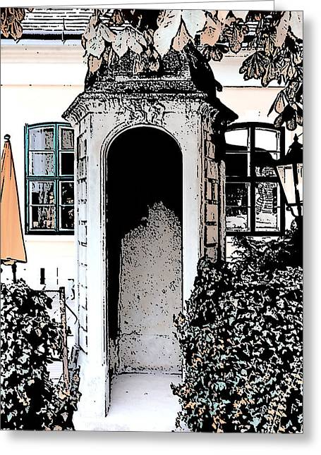 Small Alcove Greeting Card by Cecil Fuselier