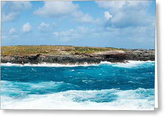 Small Island In The Sea, Flinders Chase Greeting Card by Panoramic Images