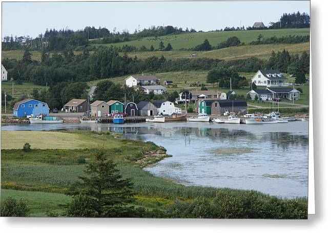 Small Town Pei Greeting Card