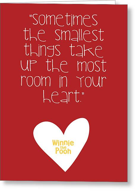 Smallest Things Greeting Card