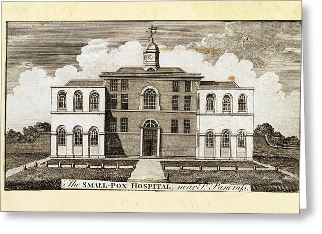 Smallpox Hospital Greeting Card by British Library