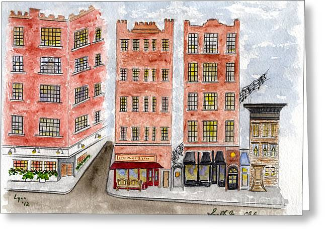 Small's Jazz Club On West 10th Street Greeting Card
