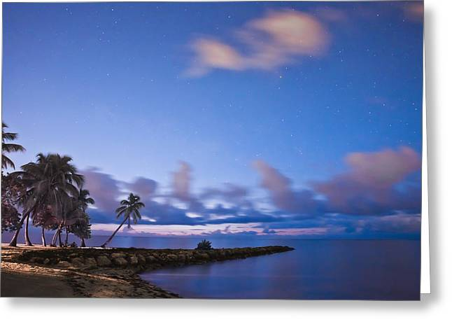 Smathers Beach Greeting Card by Scott Meyer