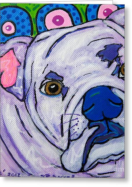 Smile Greeting Card by Susan Sorrell