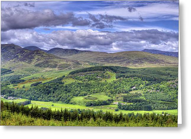 Smile Upon The Highlands Greeting Card