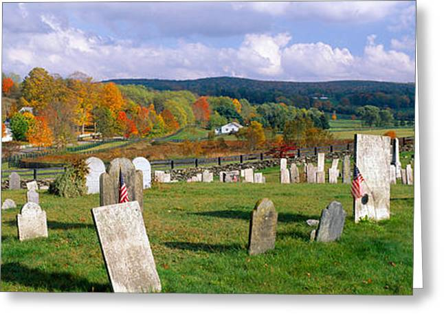 Smithfield Cemetery And Farms Greeting Card