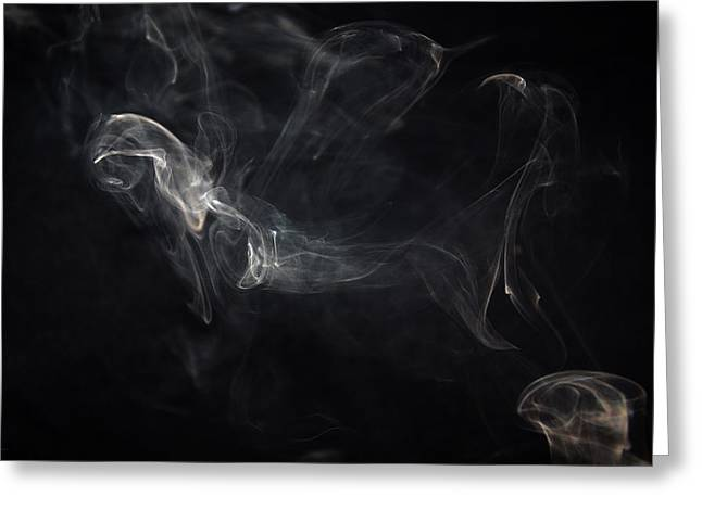 Smoke 1 Greeting Card